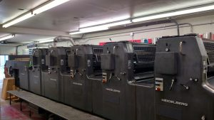 full-color printing press
