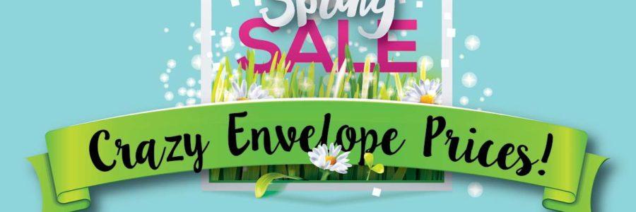 Spring Envelope Sale
